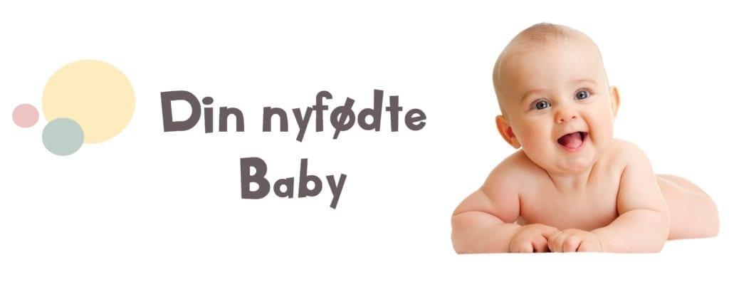 din nyfødte baby